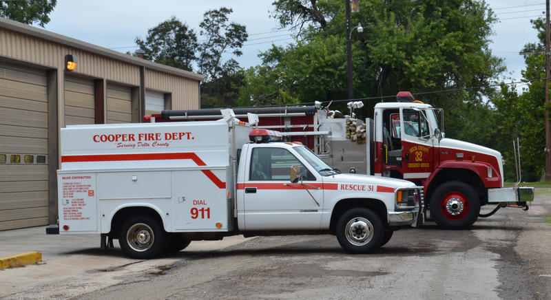 City of Cooper will be purchasing a new fire truck.