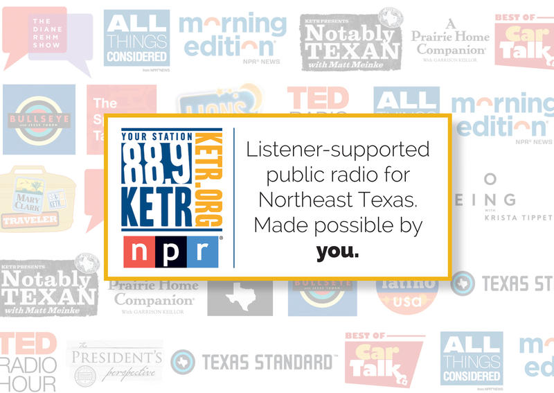 KETR is public radio made possible by you!
