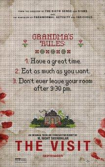 The Visit is the latest movie from M. Night Shyamalan.