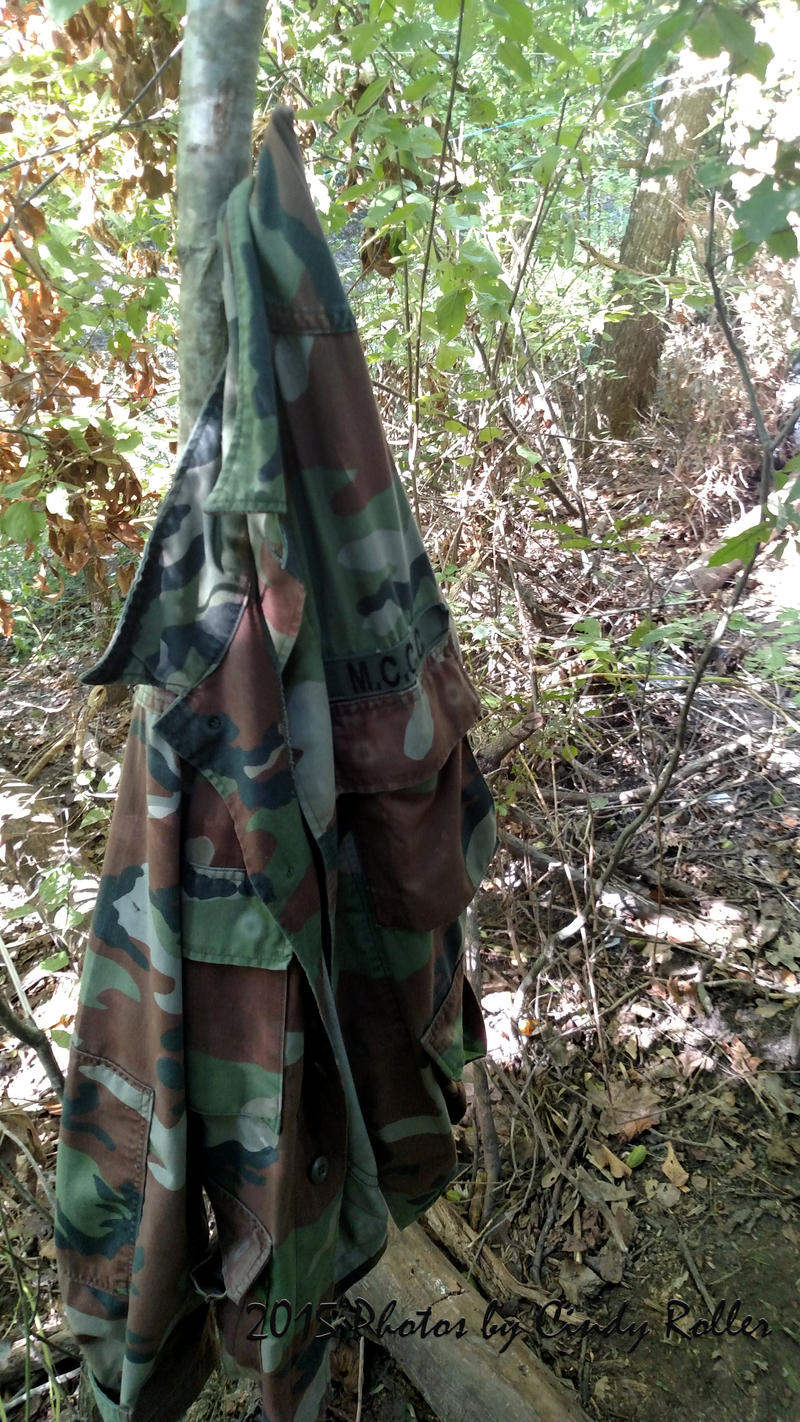 The suspects even had Army-issue camouflage as they hid out in the WMA.