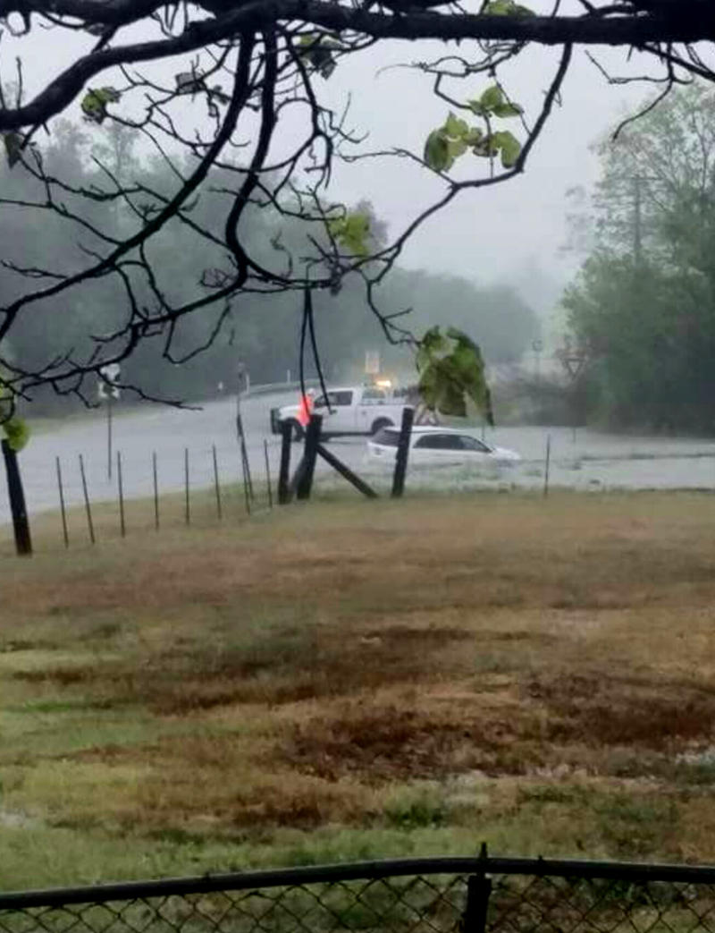 A motorist was stranded on Farm to Market 1530 near FM 64 around Ben Franklin, Texas in Delta County last Friday.