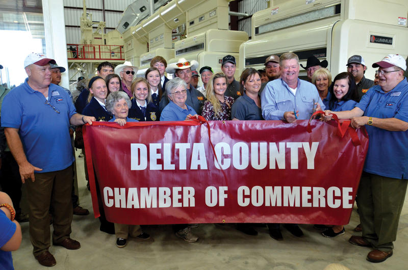 Delta County Chamber of Commerce held a ribbon cutting for PPF last Thursday at the Grand Opening.