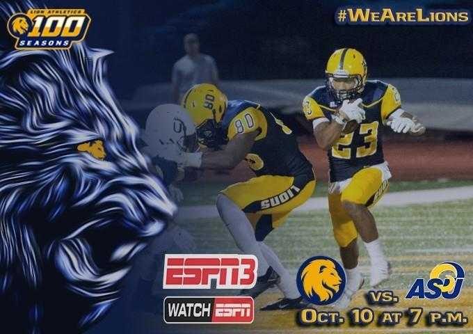 The Lions had control in the first half, but needed key plays to run out the clock to halt an Angelo State comeback.