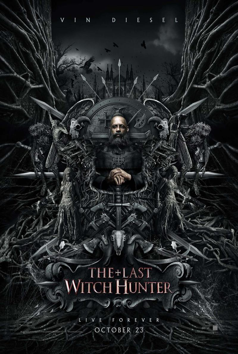Vin Diesel stars as Kaulder, The Last Witch Hunter.