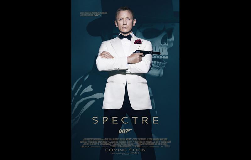 Spectre stars Daniel Craig as James Bond for his fourth time.
