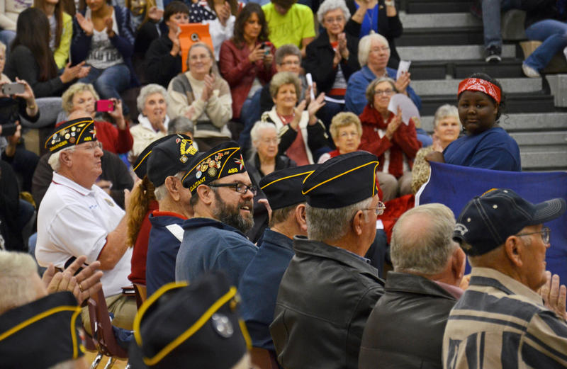 Veterans will be honored at Wednesday's program both at Cooper High School and also at the Delta County Courthouse.
