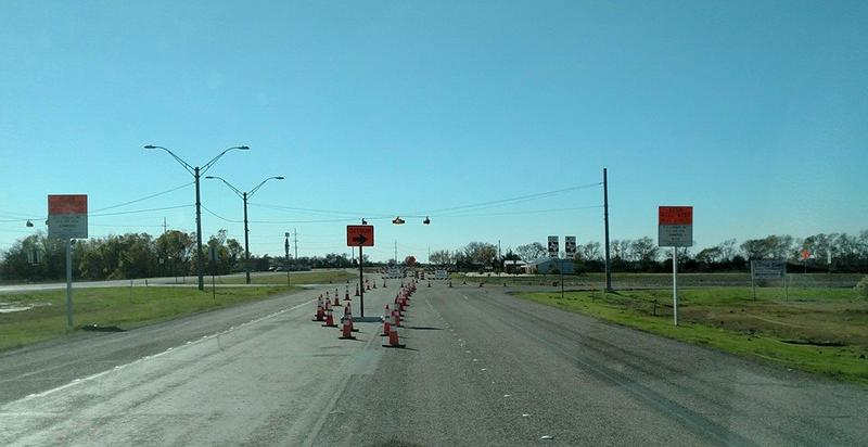 State Highway 24 has reopened between Cooper and Commerce now that waters have receded.