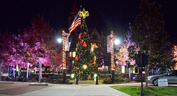 City of Sulphur Springs debuts this year's light show to music tonight at 5 p.m.