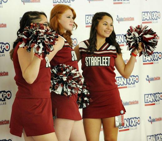Starfleet Cheerleaders