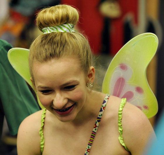 The Fairy smiles