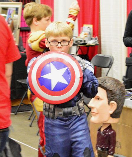Captain America ready!