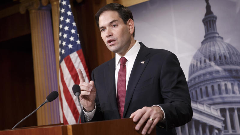 GOP Presidential Candidate Marco Rubio