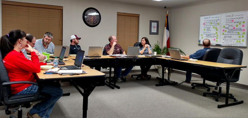 Cooper ISD Board of Trustees serve voluntarily for the district and students.