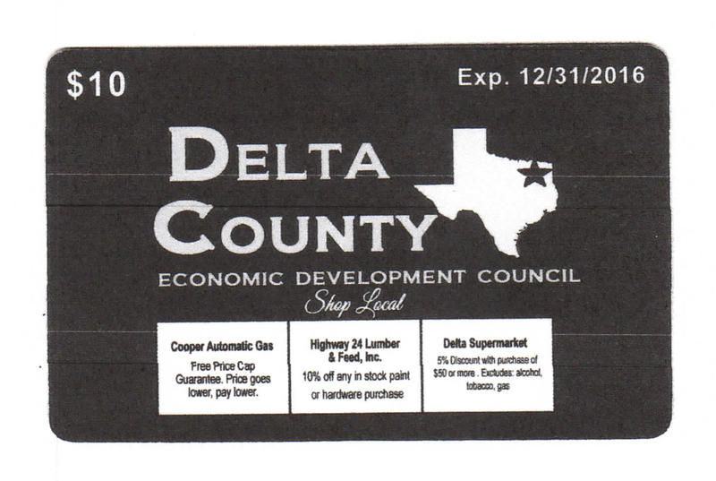 Shop Local Cards have arrived in Delta County with specials and discounts to many establishments.