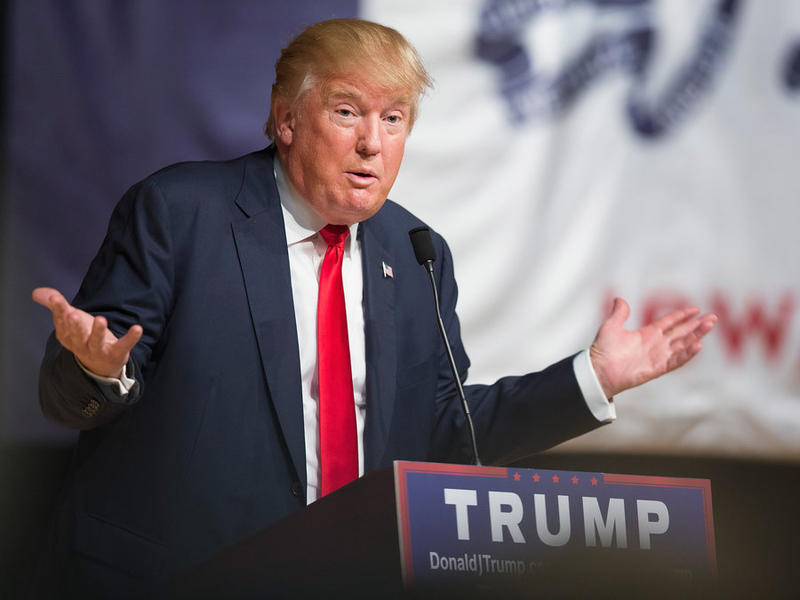 GOP Presidential Candidate Donald Trump