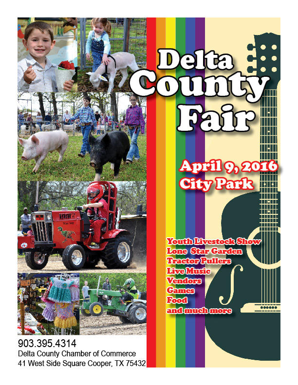Delta County Fair set for Saturday, April 9, 2016.