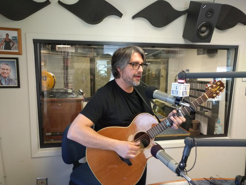 Christopher Holt performance in the KETR Studios.
