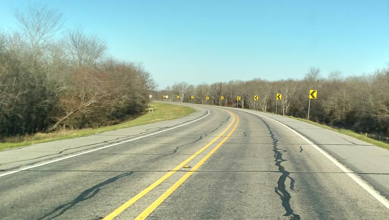 State Highway 19 curve near South Sulphur River is where the fatal accident occurred in August 2015.