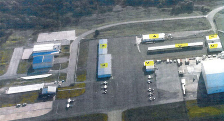 Seven buildings at Majors Field, the City of Greenville Municipal Airport, will be relocated under a master plan for the airport which is to be unveiled this month.