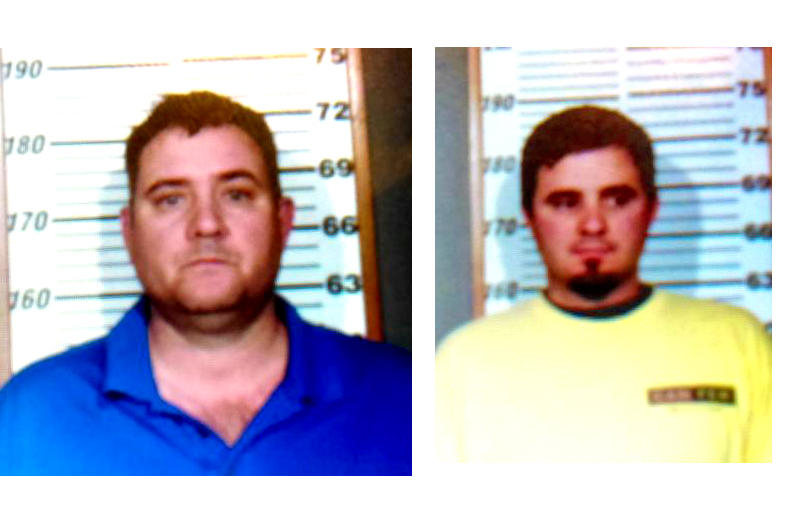 James Turner Jr. and his son Jonathan Turner were arrested for game camera theft.