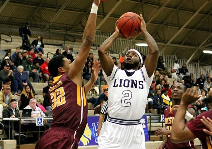 Senior guard Anthony Adams is averaging 13 points per game for the Lions.