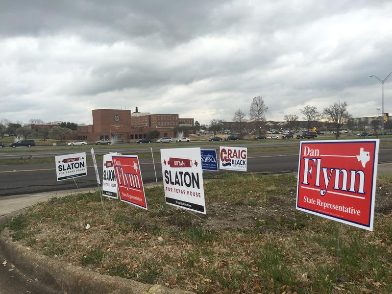 Texas held statewide primary elections on March 1.