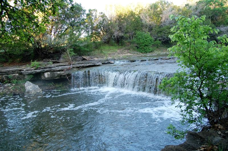 There is little doubt that Charlie Goodnight and White Parker swam in this beautiful spot on Buck Creek, located on the White Ranch.
