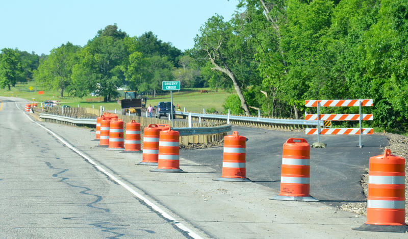 The alternative bridge will the be on site detour while the old bridge is replaced.