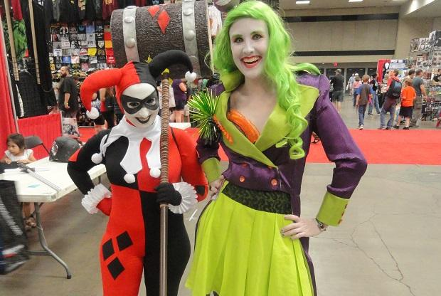 Harley Quinn and the Joker cosplay