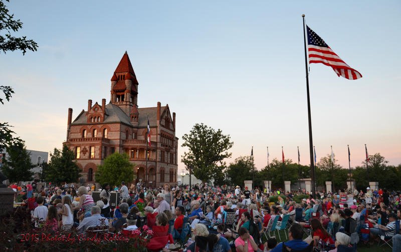 For 25 years Celebration Plaza has been filling with onlookers for the free Independence Day concert.