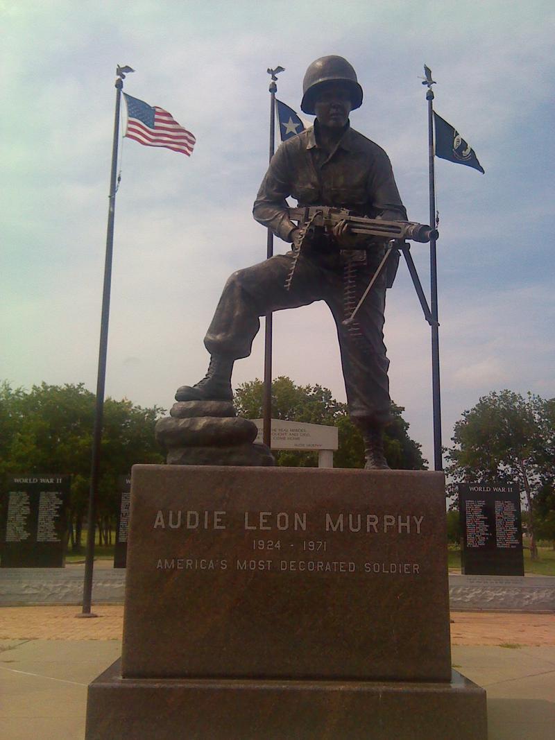 Audie Murphy statue