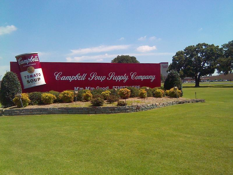 Campbell Soup plant