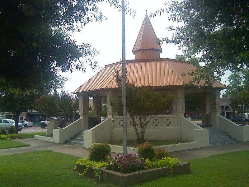 Downtown gazebo