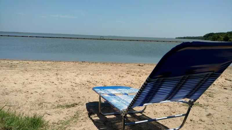 Cooper Lake beach