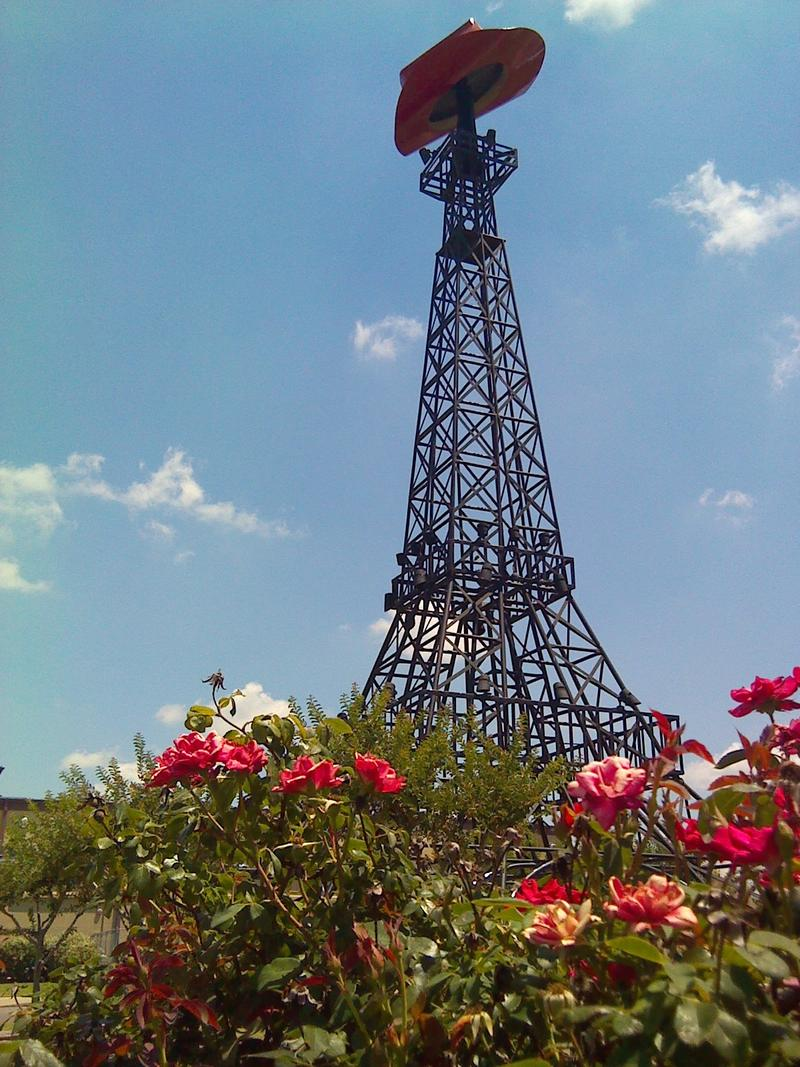 Paris' Eiffel Tower replica