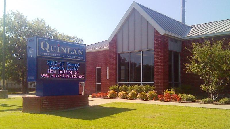 Quinlan ISD building