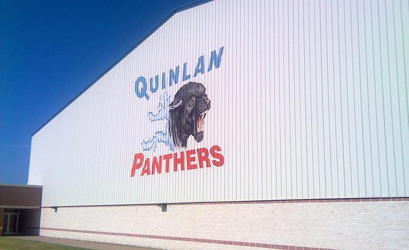 Indoor football practice building