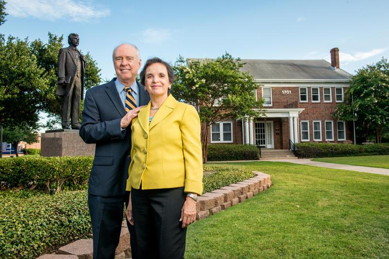 Dr. Ray Keck and Patricia Keck