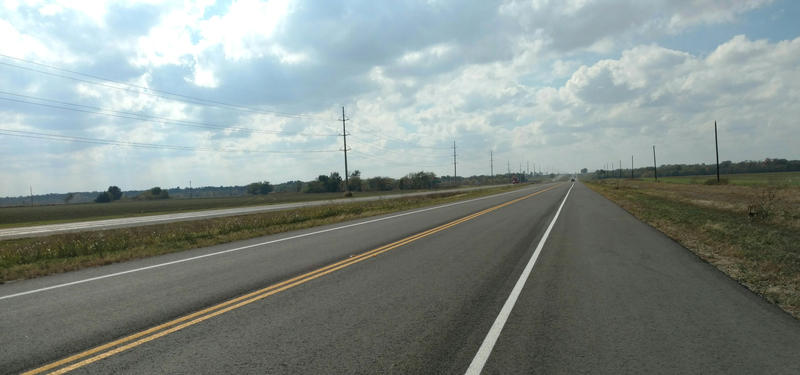 The newly constructed west bound lanes of State Highway 24 in Delta County are now open to traffic.