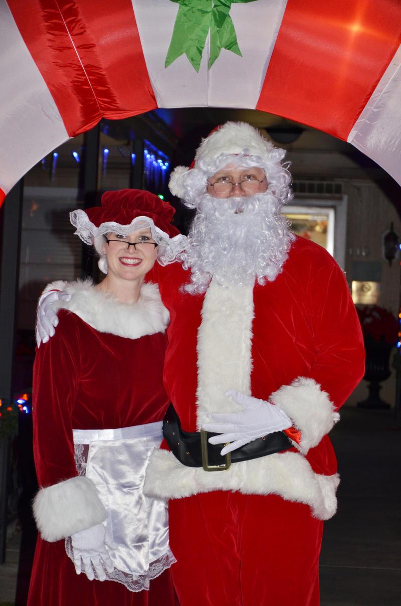 Mrs. Claus and Santa visited residents last year at Birchwood Nursing and Rehabilitation.