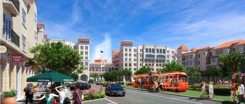 Bayside development plan