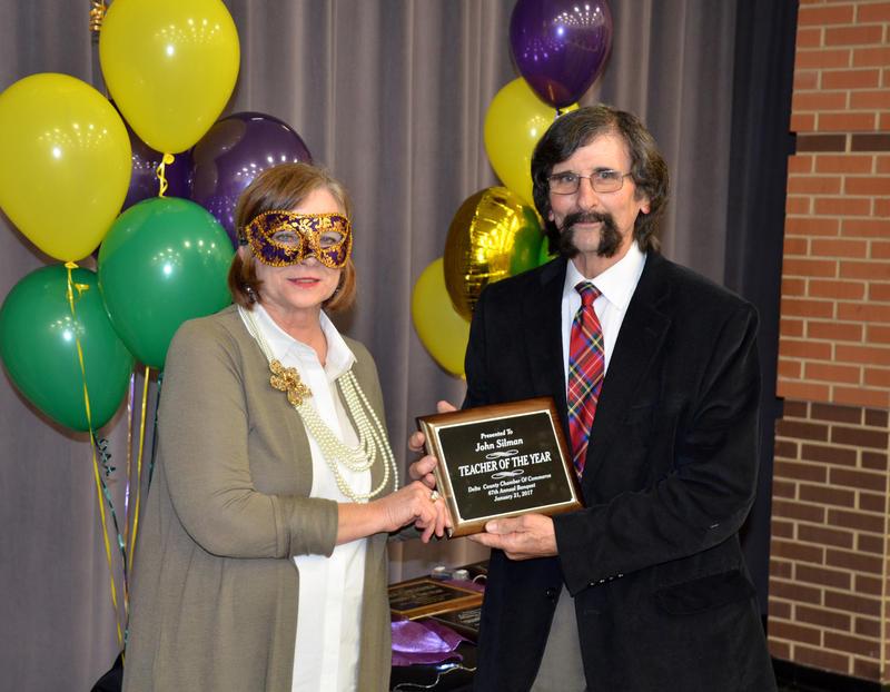 Educator of the Year John Silman