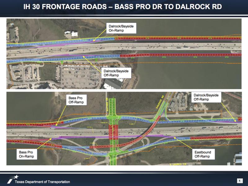 IH30-Bass Pro to Dalrock Rd.