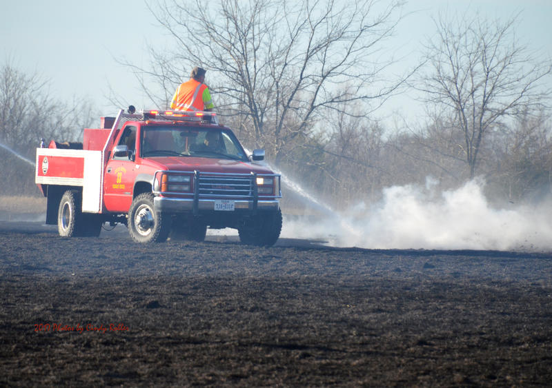 Delta County continues under a burn ban.