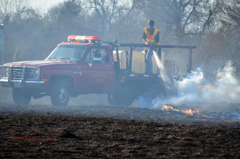 Enloe Volunteer Fire Fighters have been fighting grass fires along with several other volunteer fire departments in Delta County.