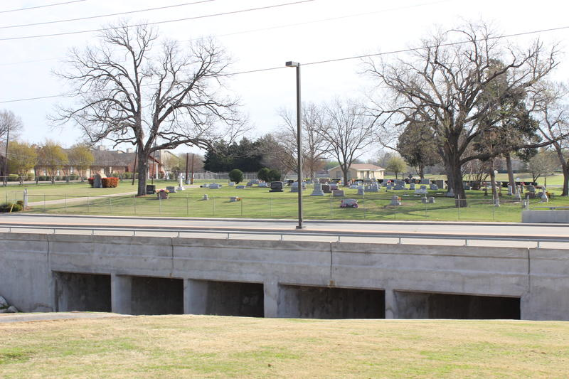 An SCI-owned cemetery in Rowlett, TX.