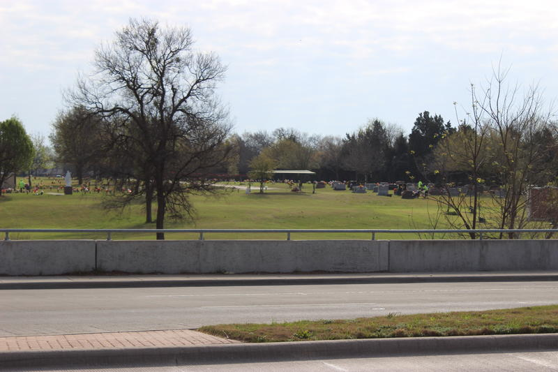 An SCI-owned cemetery in Rowlett, TX.