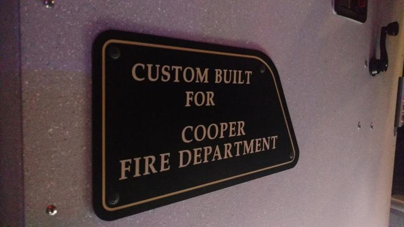 Engine 31 is custom built.