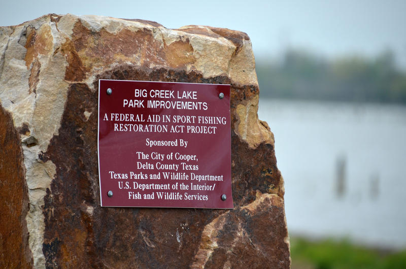 Big Creek Lake improvements were recently completed.