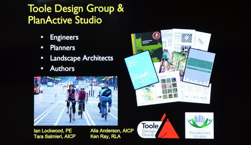 Slideshow provided by Toole Design Group
